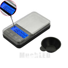 Pocket Digital Jewelry Scale Weight 500g x 0.01g Balance Electronic Gram Precise