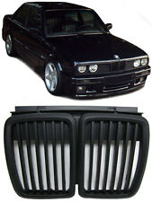 BLACK BONNET GRILLS FOR BMW E30 3 SERIES 1982-1994 MODEL NICE GIFT