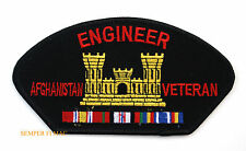 Combat Engineer AFGHANISTAN Veteran HAT Patch US ARMY SAPPER OEF MEDAL RIBBONS