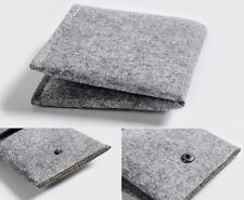 Wool Wallet Felt Card Holder Eco Friendly Lightweight 2 Colors