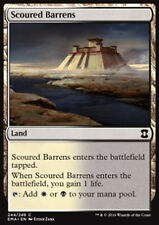 MTG 4x SCOURED BARRENS - DISTESE DESOLATE - EMA - MAGIC