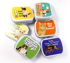 Novelty Mints Crazy Cat Owner Refreshing and long lasting Candy Mint Tin box