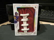 National Treasures Rookie Leather and Lace Vikings Stefon Diggs   2/4  2015