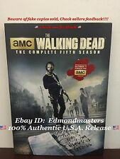 The Walking Dead: Complete Fifth Season 5 (DVD 2015, 5-Disc Set)Brand New Sealed