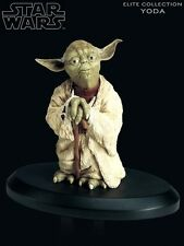 Attakus Star Wars Elite Collection Yoda 2 Statue New