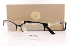 brand new versace eyeglass frames 1228 1291 blackgold women 100 authentic 53