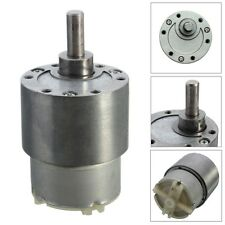 Mini 12V DC 70 RPM High Torque Gear Box Speed Control Electric Motor Low noise