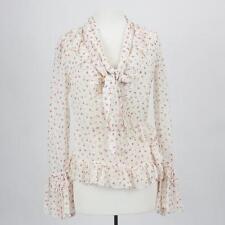 Dolce Gabbana Floral Print Blouse Size 8