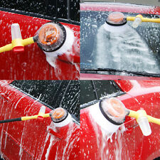Telescopic Hose Professional Car Caravan Motorcycle Window Cleaning Swivel Brush