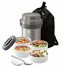 Lunch Jar Food Storage Set Thermos Box Stainless Steel Hot Cold Container Soup