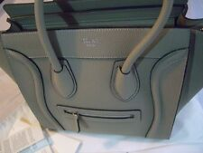 BAG CELINE GREY 2017 GRIGIO BORSA  PHANTOM LUGGAGE TRAPEZE EXPO