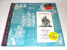 "Loehrer/Milano ""Vivaldi: Serenata a Tre"" 1961 LP,SEALED!,Vox DL-670,France Press"