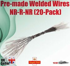 Pre-made Welded Wires - NR-R-NR 2.5Ohm (20-Pack) for kanger protank, iclear etc