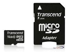 Transcend micro SD HC card 16gb microSDHC de 16 gb class 10 ts 16 gusdhc 10
