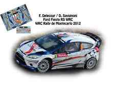 DECALS 1/43 FORD FIESTA RS WRC - #8 F.DELECOUR - RALLYE MONTE CARLO 2012- NCM046