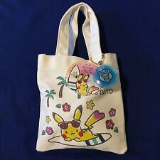 Pokemon Pikachu Nintendo x ITS'DEMO Mini Tote Bag with biscuits JAPAN exclusive