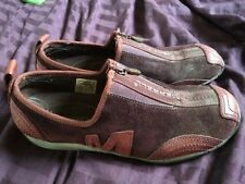 MERRELL Barrado leather Dark Purple Women's Shoes Size 7 Eur 37.5