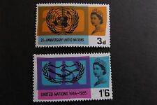 GB MNH STAMP SET 1965 United Nations (ord) SG 681-682 10% OFF ANY 5+