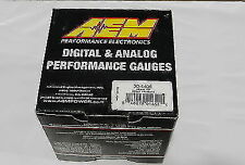 NEW AEM Digital Display -30 to 35 PSI Turbo Boost Gauge AEM 30-4406