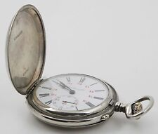 Hy Moser & Cie Taschenuhr Savonette pocket watch
