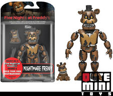 """FUNKO FIVE NIGHTS AT FREDDY'S NIGHTMARE FREDDY 5"""" ACTION FIGURE 11843 - IN STOCK"""