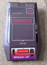 Vintage Electronic Break Up Hand Held Tabletop Video Game Tomytronics Breakout