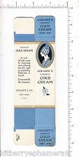 6157 Colgate Charmis Cold Cream c 1920 unused box, skin softener cosmetic