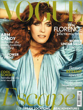 VOGUE UK 01/2012 FLORENCE WELCH Agyness Deyn CATERINA RAVAGLIA Romee Stridj @NEW