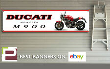 1994 DUCATI m900 MONSTER banner per Officina, Garage, Pit Lane, 1300mm x 325mm