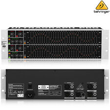 Behringer FBQ6200 Ultragraph Pro Audiophile 31 Band Stereo Graphic EQ Studio NEW