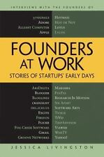 NEW Founders at Work: Stories of Startups' Early Days by Jessica Livingston Hard