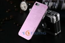 Hybrid Ultra Slim Hard Case Brushed Aluminum Metal Cover Shell for Various Phone