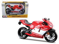 DUCATI DESMOSEDICI RR RED/WHITE BIKE 1/12 MOTORCYCLE DIECAST MODEL MAISTO 31190