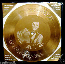 ELVIS PRESLEY-GOLDEN MEMORIES-IMPORT PICTURE DISC-ROCKABILLY-Young Dreams