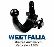 Gancio traino WESTFALIA JEEP RENEGADE TRAILHAWK DAL 2014  KIT ESTRAIBILE A40V