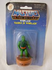 MATTEL  MASTERS OF THE UNIVERSE -TIMBRO MASTERS SERIE 1 WIPLASH !NUOVO!
