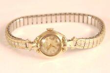 Vintage Bulova 10k gold field 17 jewels  Watch Not working