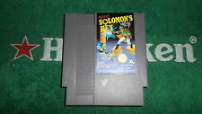 NES NINTENTO RETROGAMES SOLOMON'S KEY PAL A VERS ITA MADE IN JAPAN