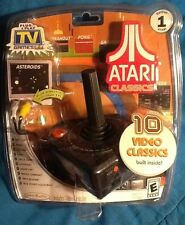 ATARI Classic 10-in-1 TV Games Plug And Play Jakks Pacific 2002 Joystick MINT