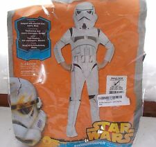 New Rubie's Disney Star Wars Storm Trooper Costume Child's Small 4-6