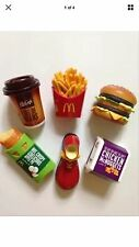 McDonalds toys Food Magnet 6pcs Stationery RARE New In Package