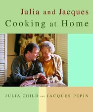 Julia and Jacques Cooking at Home Child, Julia, Pepin, Jacques Hardcover