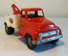 """Tonka Toys Ford Round Fender Cab """"MM"""" Service Tow Truck 50's V RARE NICE ORIG."""