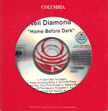 NEIL DIAMOND Home Before Dark US 12-trk watermarked promo test CD