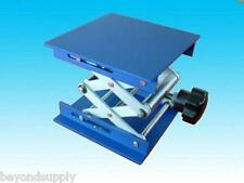 "lab aluminium oxide  Lab Jack10""(25cm)x8""(20cm)Scissor Stand lifting table new"