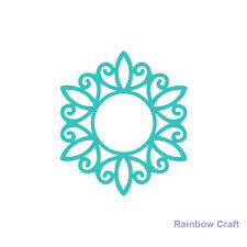 Ultimate Crafts universal impression dies - Decorative Emblem