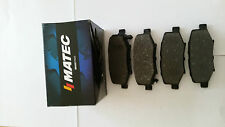 Jeep Cherokee 08-, Wrangler 07- Rear Brake Pads