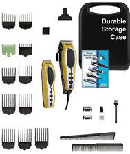 Wahl 22pc Groom Pro Haircutting Clipper Kit with Hair Trimmer Yellow 2 Set