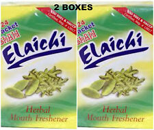 2 Boxes!! SHAHI ELAICHI SUPARI Betel Nuts Cardomom Mouth Freshner USA SELLER