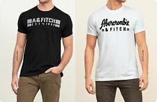 ABERCROMBIE & FITCH MEN'S GRAPHIC TEES T SHIRTS LOT OF 2【 LARGE 】 NEW